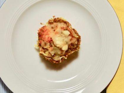 Herzhafte Teff-muffin