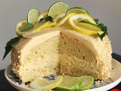 Baobab-Lemon cake
