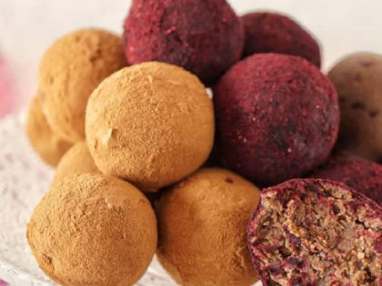 Sugar-free superfood truffels
