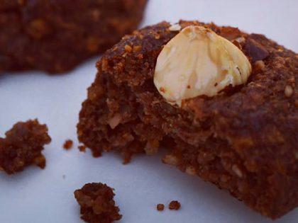 Gluten-free Hazelnut-Teff Cookies